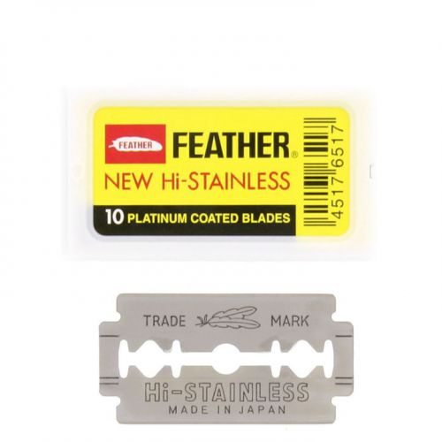 Feather Double Edge Blades 81-S 10stuks