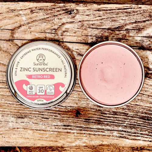 Suntribe Face & Sport Mineral Sunscreen SPF30 45gr Red