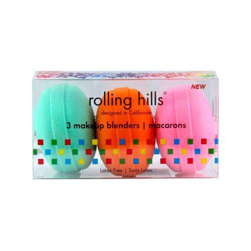 Rolling Hills Makeup Blender Macarons Set 3pc