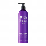 TIGI Bed Head Dumb Blonde Purple Toning Shampoo 400ml